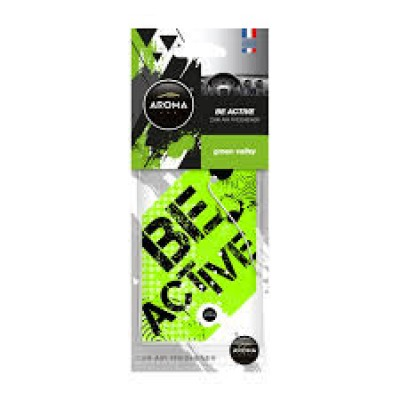 Ароматизатор Aroma Car Be Active - GREEN VALLEY